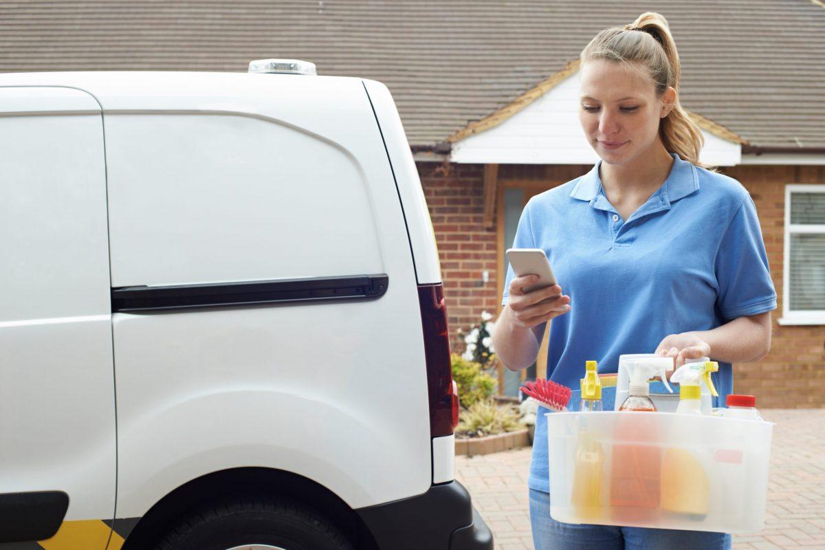7. Comercialice su negocio de limpieza