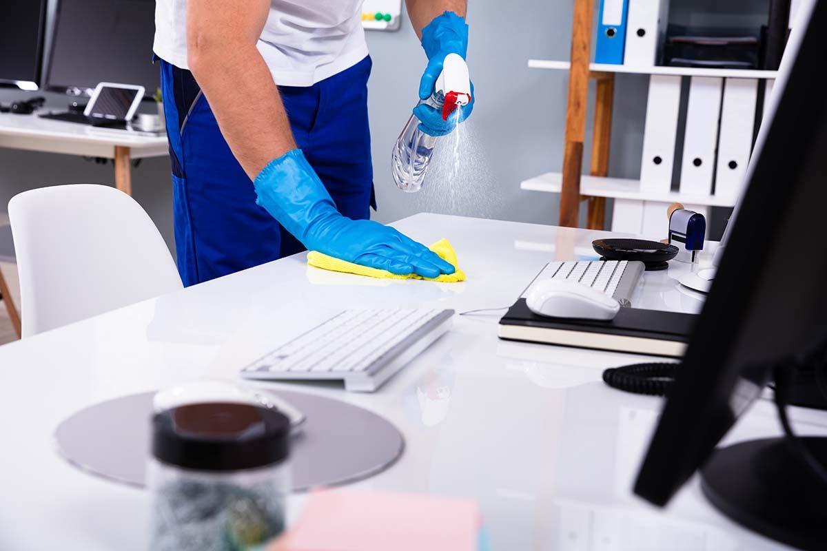 1. Elija su tipo de negocio de limpieza